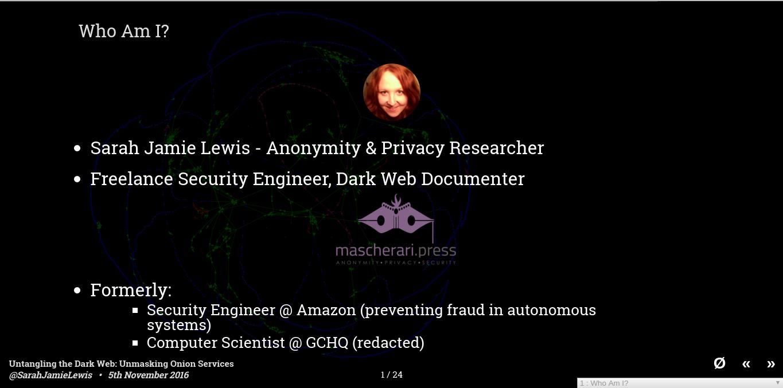 Untangling the Dark Web: Unmasking Onion Services - Hackfest