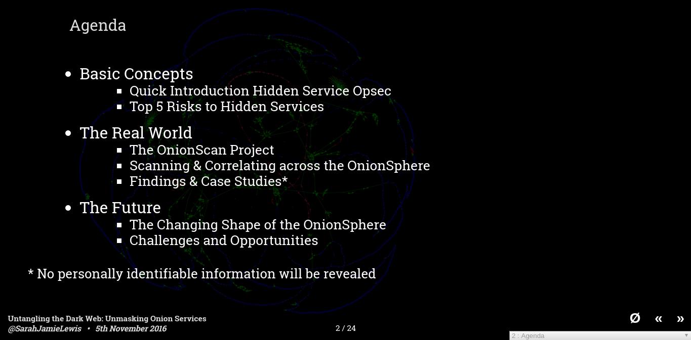 Untangling the Dark Web: Unmasking Onion Services - Hackfest
